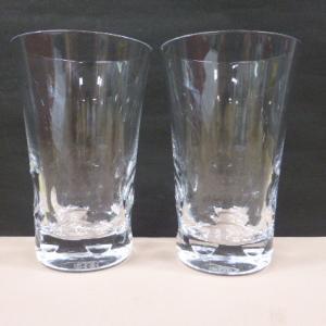 バカラ Baccarat クリスタルガラス ベルーガ ペア ハイボールグラス  タンブラー