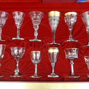 モーゼル  クリスタル MOSER テーブルセット (Lサイズ)12客セット ワイングラス