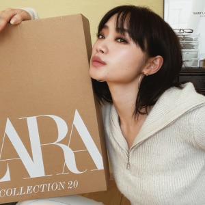 約5万円分。ZARA購入品