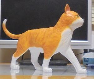 ネコの塗装