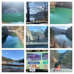 久々の銀山湖