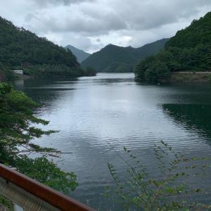 生野銀山湖 水位