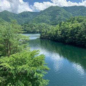 生野銀山湖 水位状況16たび