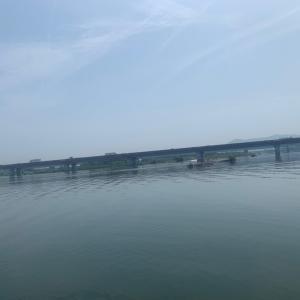 紀ノ川でバス釣り