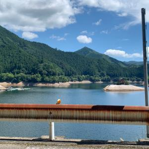 銀山湖水位状況17たび