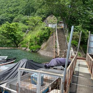 生野銀山湖 水位状況