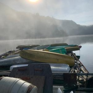 R3 久々の銀山湖