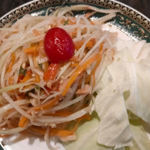 タイ料理でクラビに思いを馳せる