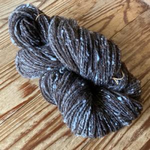 紡いだ糸の紹介