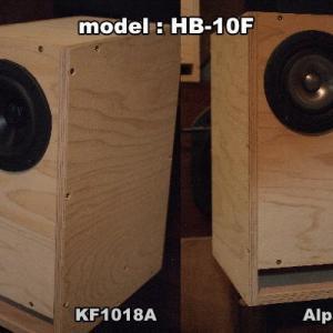 10cmフルレンジ用ハイパーバスレフ箱~Bel Suono KF1018A、MarkAudio Alpair7MSとの相性は?
