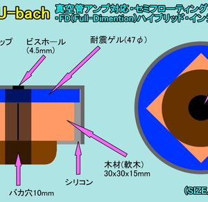 真空管アンプ用セミフローティング・インシュレーターの製作♪