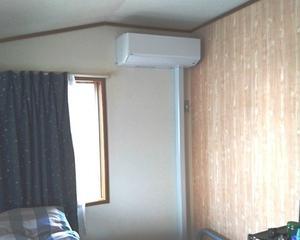 エアコンコンセントの差込口増、チャイム設置