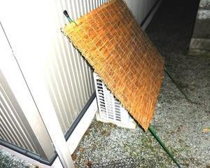 エアコン室外機効率UP簡単DIYで日陰にしよう。