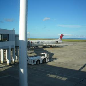 200807日本航空搭乗記「JAL3736便 奄美大島-鹿児島」MD81