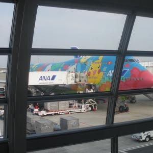 200807全日空搭乗記「ANA263便 東京羽田-福岡」旧スーパーシート座席