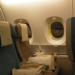201005シンガポール航空搭乗記「SQ346便 SIN-ZRH」