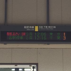 202006JR東日本乗車記「特急しおさい8号 成東−東京」グリーン車
