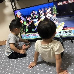 テレビを2個買う...