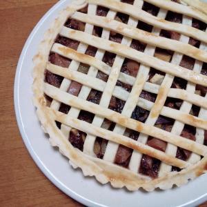 小豆とリンゴのパイ