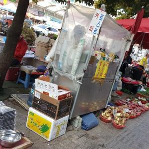 釜山 釜田市場に行ってみました!