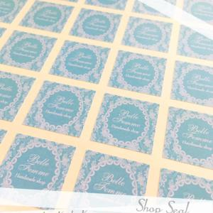 正方形ショップシール作成・SS-119