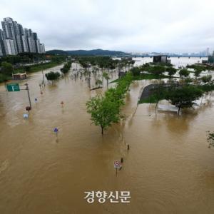 ソウルの大雨