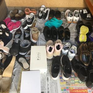 「似たもの靴」を攻略してスッキリ~実家の下駄箱整理~【before→after】