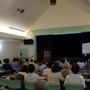 さいたま市浦和ふれあい館で、「家族社会学 実家の片づけ講座」