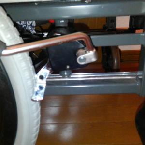 久しぶりに積もりました&車いすの修理
