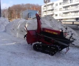 ヤナセ除雪機 動作確認🎵