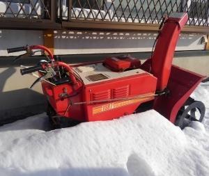 古い除雪機 整備 調整 引き取り 買い取り可能です🎵