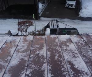 札幌 清田区 屋根の雪下ろし徐排雪 マツダ