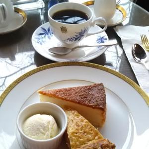 奈良ホテルで創業110周年ケーキセット&フルーツサンド♪