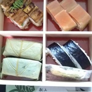 柿の葉すし本舗たなかとお赤飯と大阪×和歌山♪