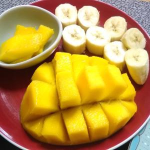 大好きなマンゴーとハウスブレンド♪
