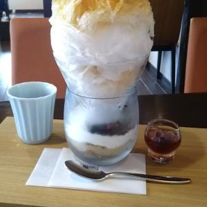 吉祥菓寮で限定20食のパフェ氷~紅茶蜜♪
