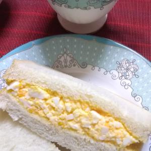 「ぱんのいえ」と手作りたっぷりたまごサンドイッチ♪