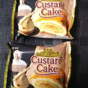 はらこ飯と辻口さん監修モンブランのカスタードケーキ♪