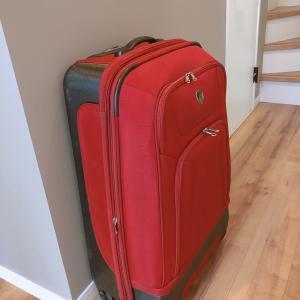 長期滞在用スーツケースを買い替え☆
