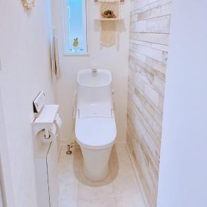 我が家の狭いトイレの収納方法☆