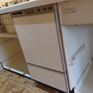フロントオープンのリンナイ食器洗い機工事