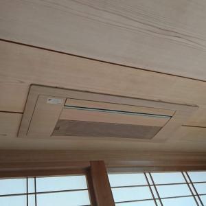天井埋め込み型エアコン入替工事