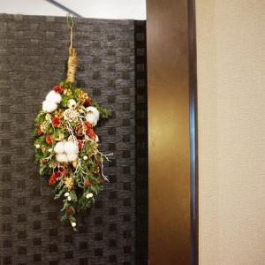 北九州市の凰茶堂さんにてクリスマススワッグワークショップを開催いたしました。