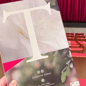 オペラ「椿姫」を観に☆