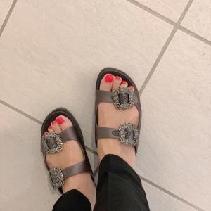 お気に入りの靴で♪