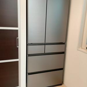 新しい冷蔵庫☆