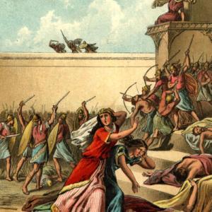エステル記 V-C ユダヤ人の救出と喜び
