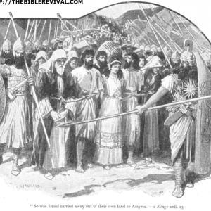 列王紀下 II-C-16b ホセア その滅亡をもたらしたイスラエルの悪