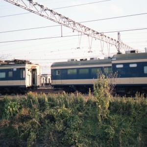 80年代 581系車両の大量留置