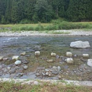 馬瀬川 川の変化